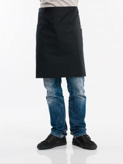 Apron 3-Pockets Black W100 - L50