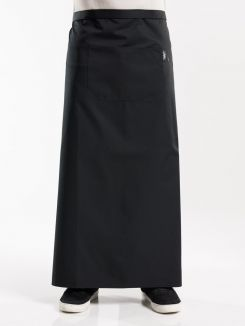 Apron 1-Pocket Black W120 - L100