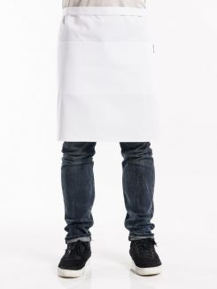 Apron 3-Pockets White W100 - L50