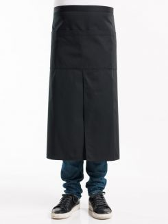 Apron 4-Pockets Black W90 - L80