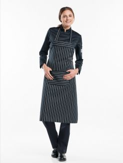 Bib Apron Big Stripe W75 - L100