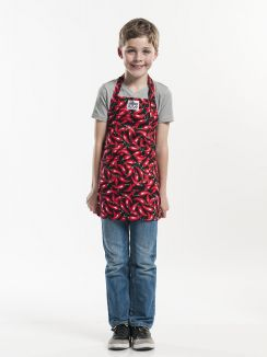 Bib Apron Kids Chili Pepper W50 - L55