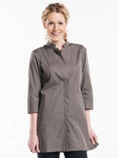 Serving Jacket Women Stone Stretch 3/4 Sleeve