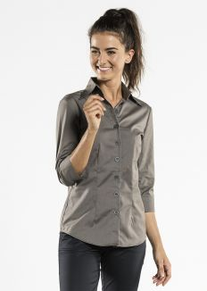 Shirt Women Stone Stretch 3/4 Sleeve