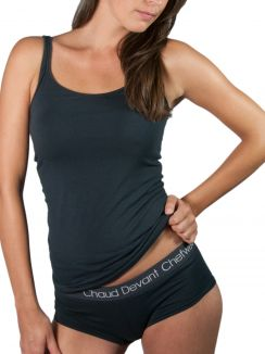 Underwear Lady Singlet Grey