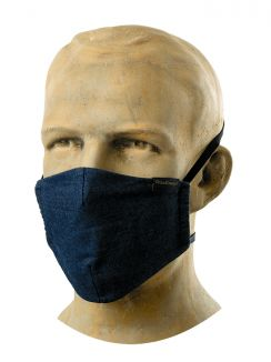 Hospitality Face Mask Comfort Blue Denim (5pcs)