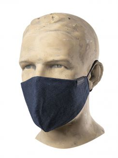 Hospitality Face Mask Easy Blue Denim (3pcs)