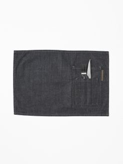 Table Textiles Placemat Blue Denim (2pcs) 50x35 cm