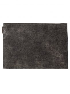 Table Textiles Placemat Moonshine Black (2pcs) 50x35 cm