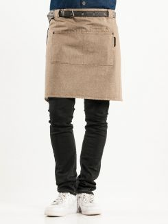 Apron Forene Mud Denim W70-L50