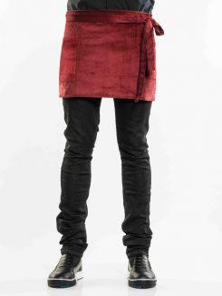 Apron Red Velvet W80 - L45