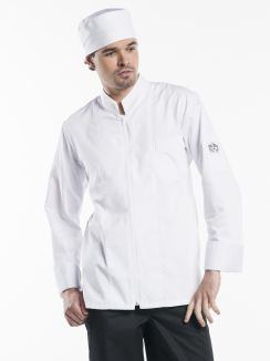 Chef Jacket Monza White