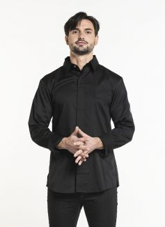 Chef Jacket Chef Shirt Black