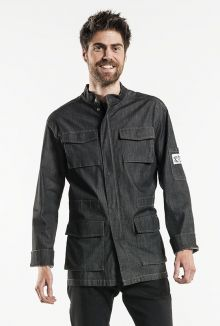Chef Jacket Parka Antra Denim Stretch